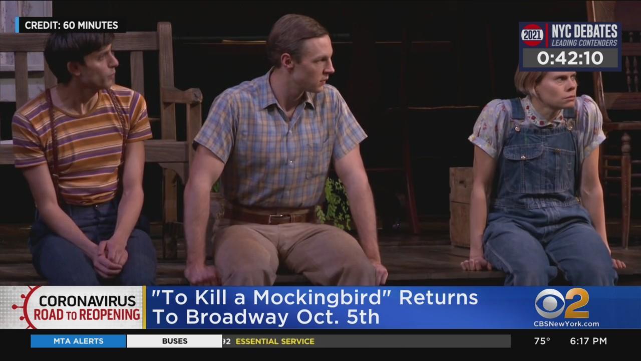 'To Kill A Mockingbird' Returns To Broadway Oct. 5