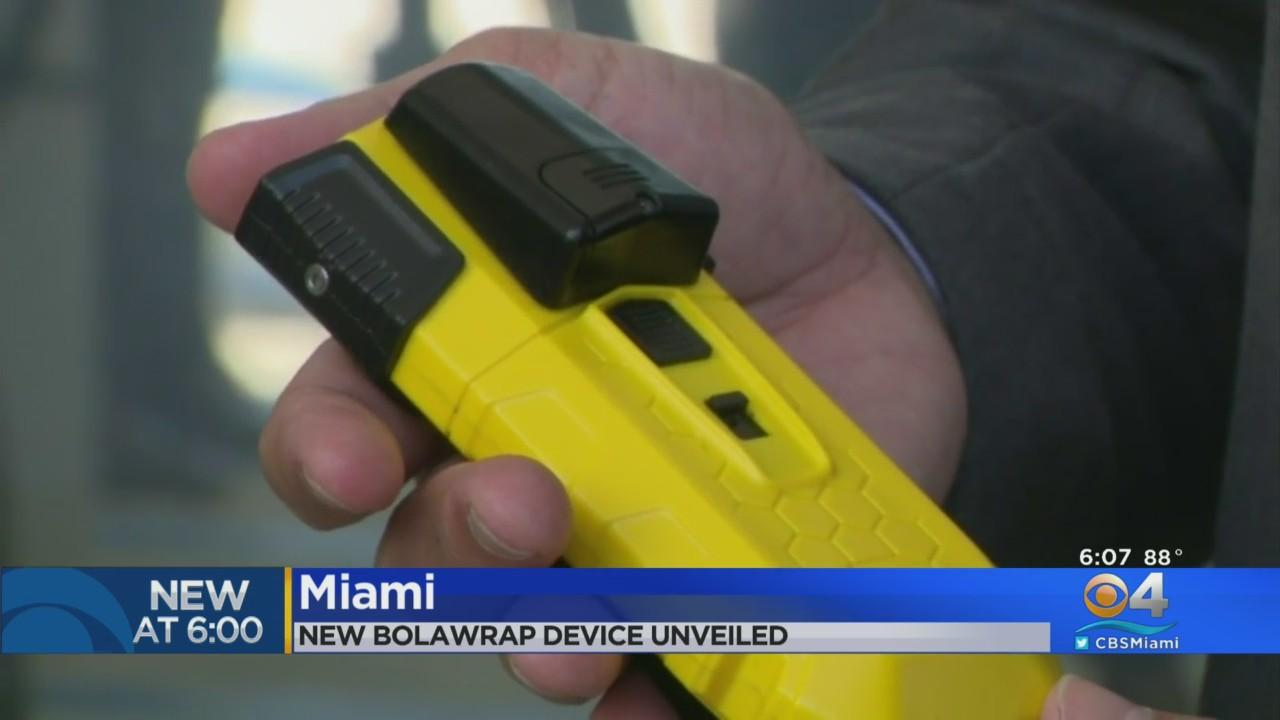 Miami Police Implementing Non-Lethal BolaWrap Apprehension Devices