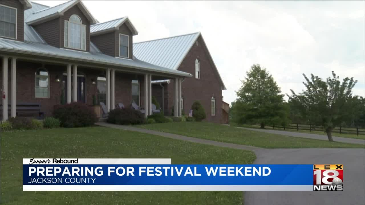 Jackson County bed and breakfast hosting fair to support community artists