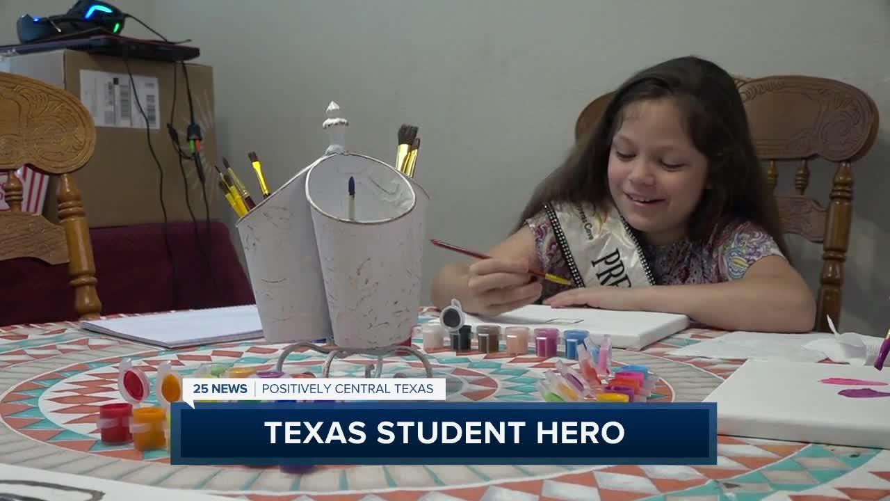 Texas student hero award