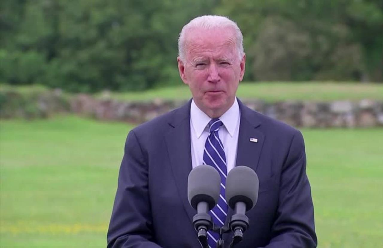 U.S. will be 'arsenal of vaccines' for the world -Biden