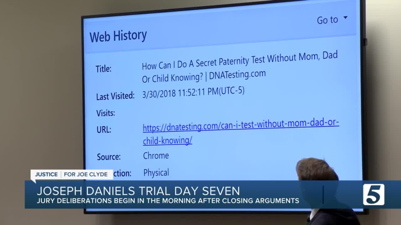 State, defense rest their case in Joseph Daniels trial; Closing arguments to start Friday