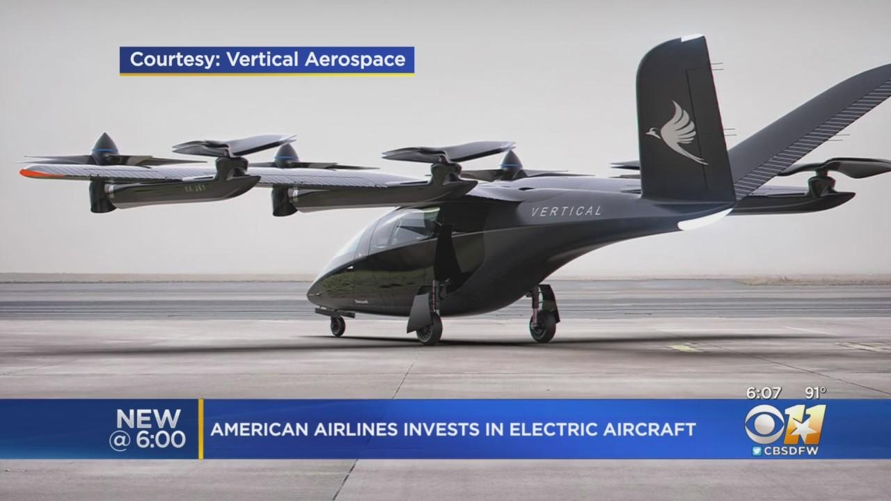 American Airlines Plans Electric, Vertical Take-Off Aircraft To Serve Urban Areas