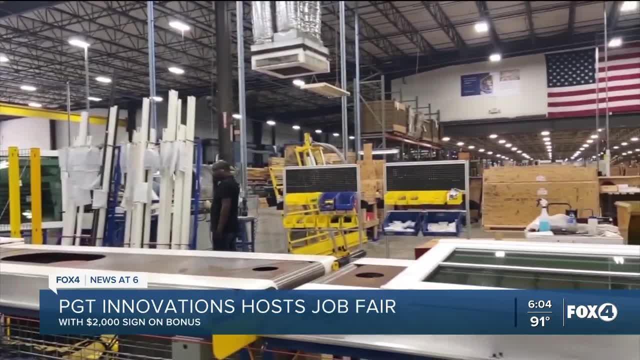Job Fair in Bonita Springs makes several new hires