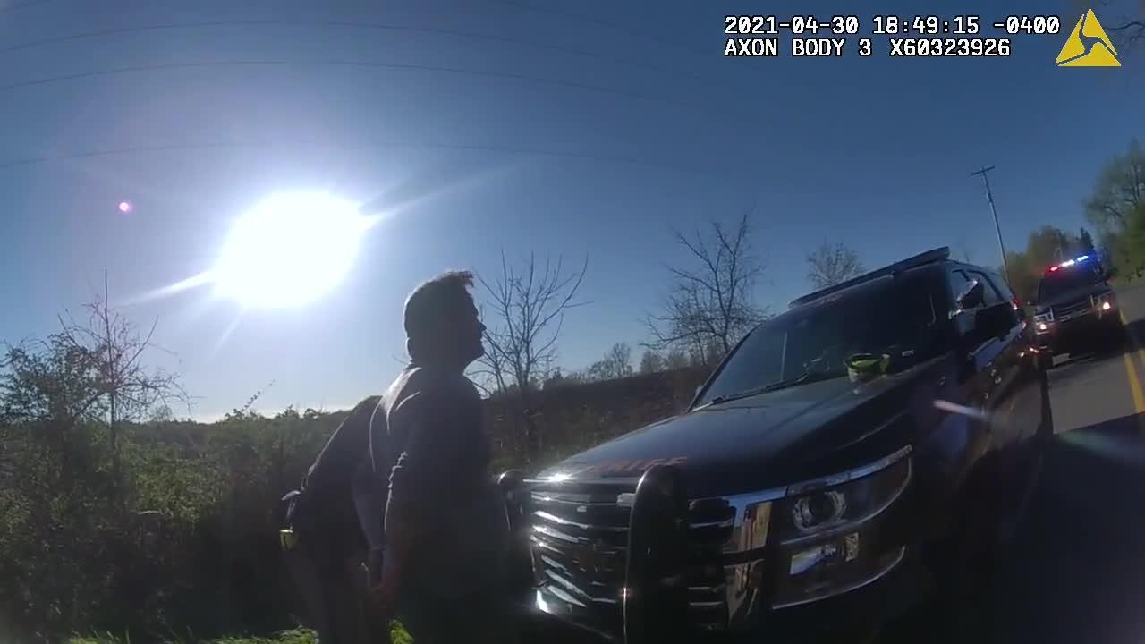 Bodycam 2: Rep. Bryan Posthumus OWI crash