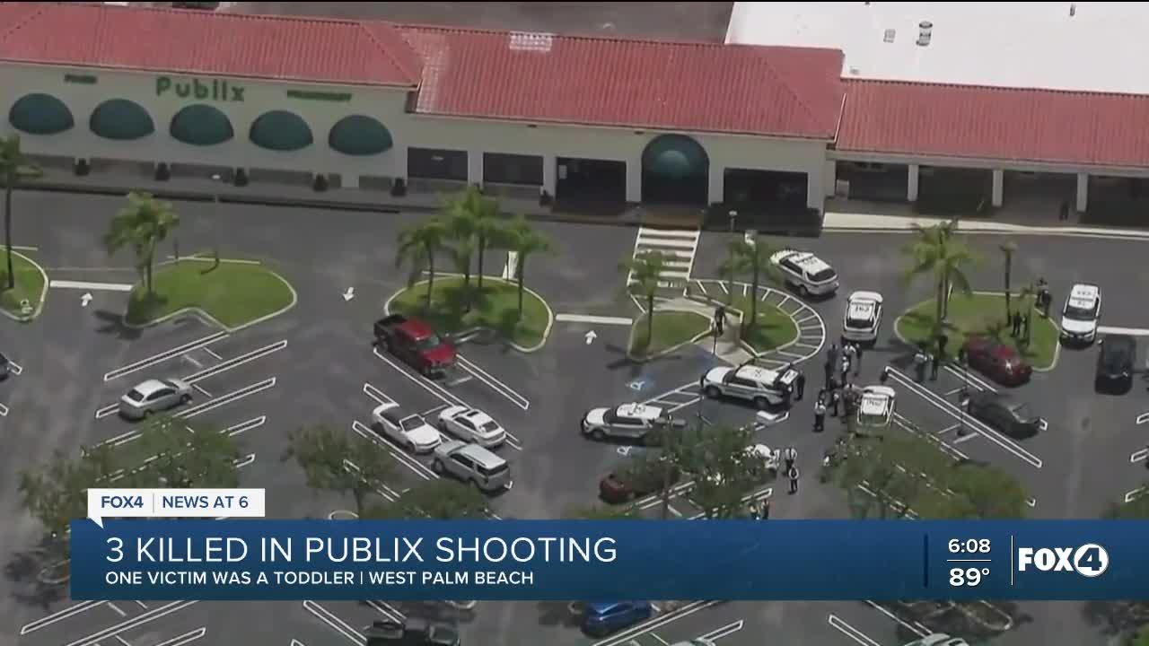 3 people, including toddler, dead after shooting at a Publix in Florida