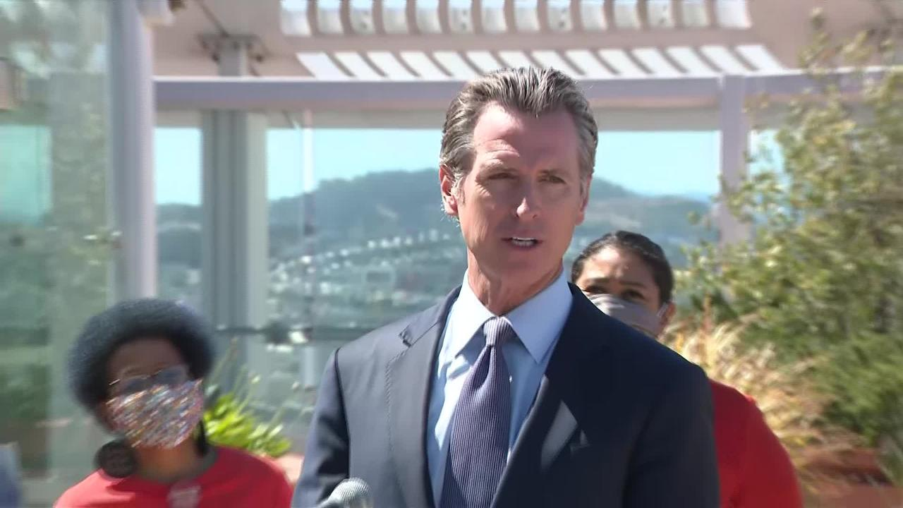 RAW: Gov. Newsom Blasts Federal Judge Who Overruled State's Assault Weapon Ban