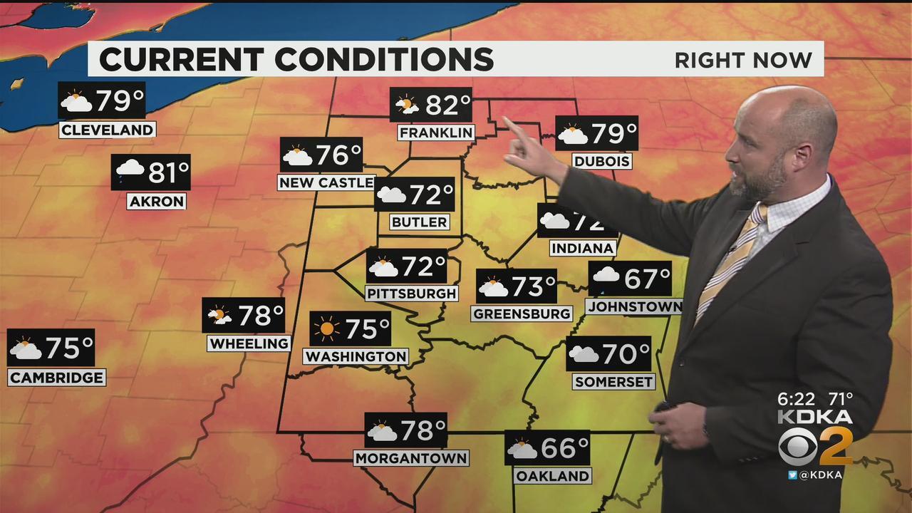 KDKA-TV Evening Forecast (6/10)