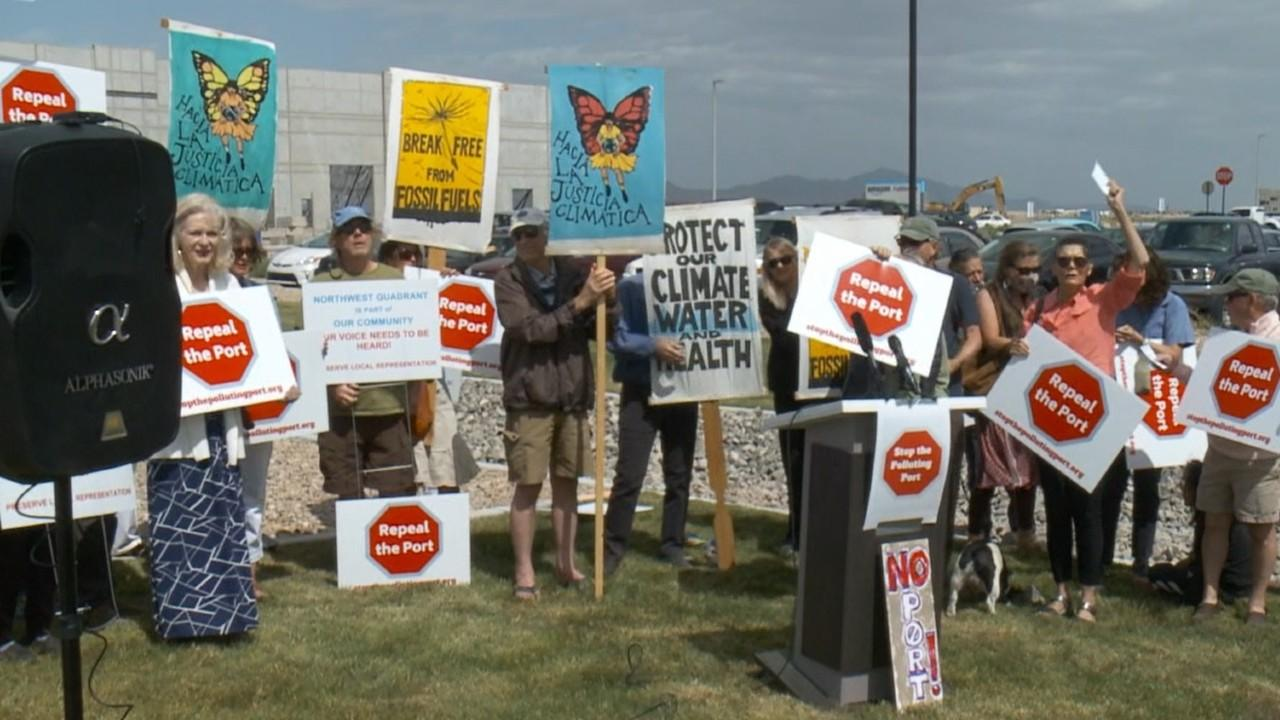 New round of protests against Utah's inland port