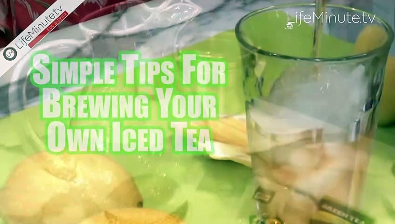 Easy and Refreshing Iced Tea