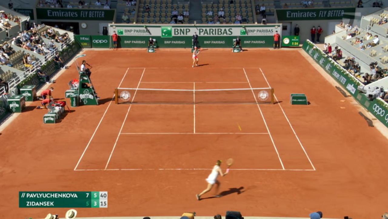 French Open Day 12 Recap: Anastasia Pavlyuchenkova Will Face Barbara Krecjikova in Women's Final