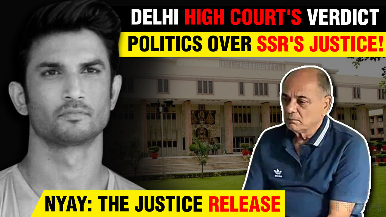 Delhi High Court's SHOCKING Decision Over Film On Sushant After Father's Plea Seeking Ban