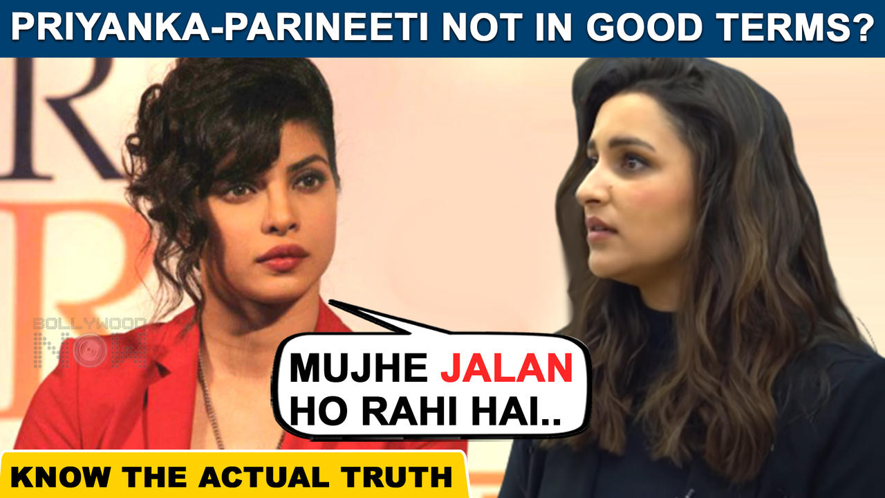 Omg ! Priyanka Chopra Jealous Of Her Sister Parineeti Chopra For This Big Reason