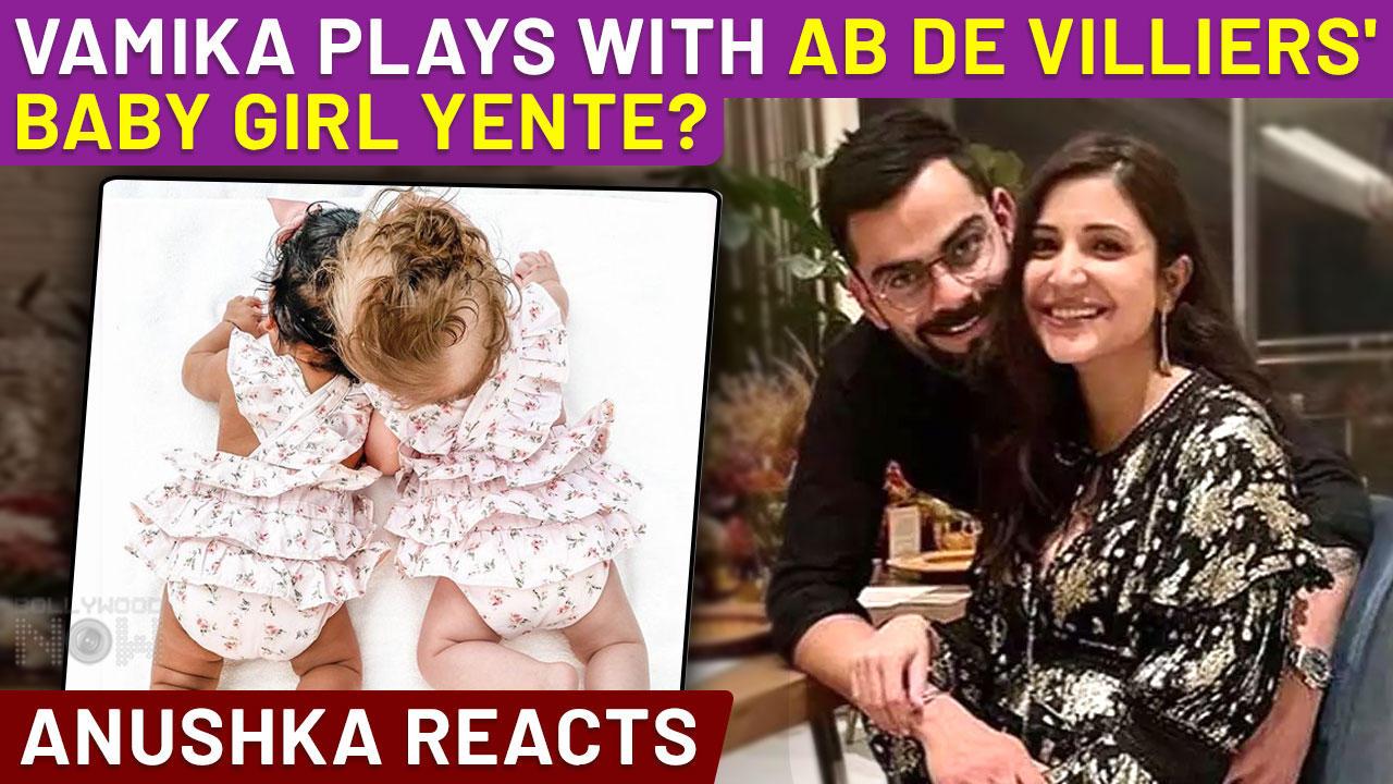 Anushka & Virat's Daughter Vamika New Photo With AB De Villiers' Daughter Yente