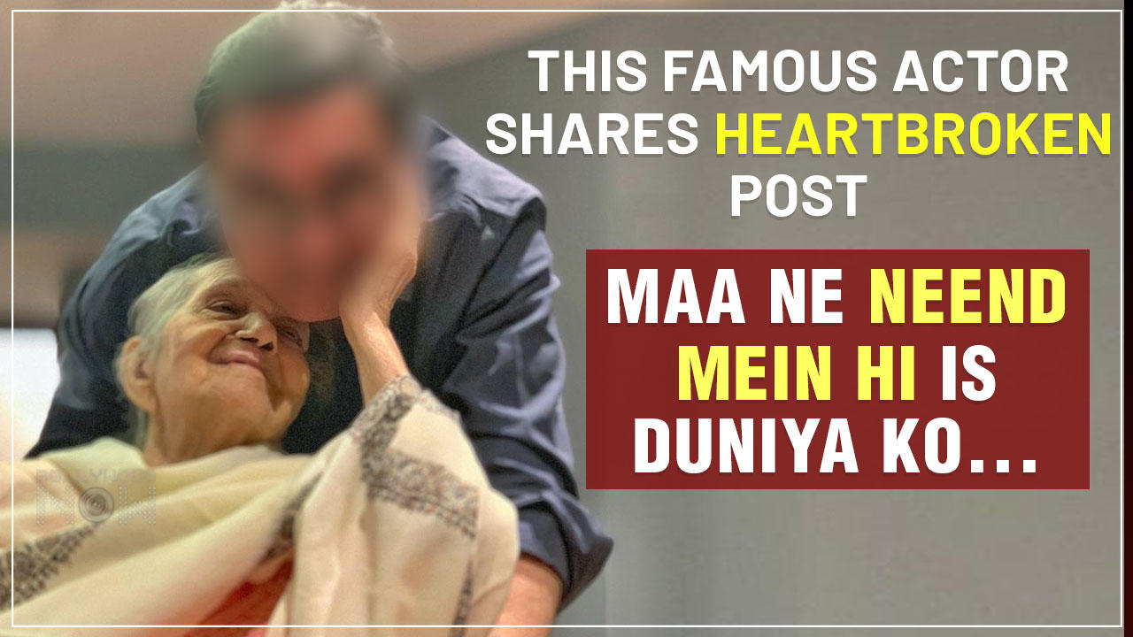 Shocking   This Famous Bollywood Actor's Emotional Breakdown As He Loses His Mother