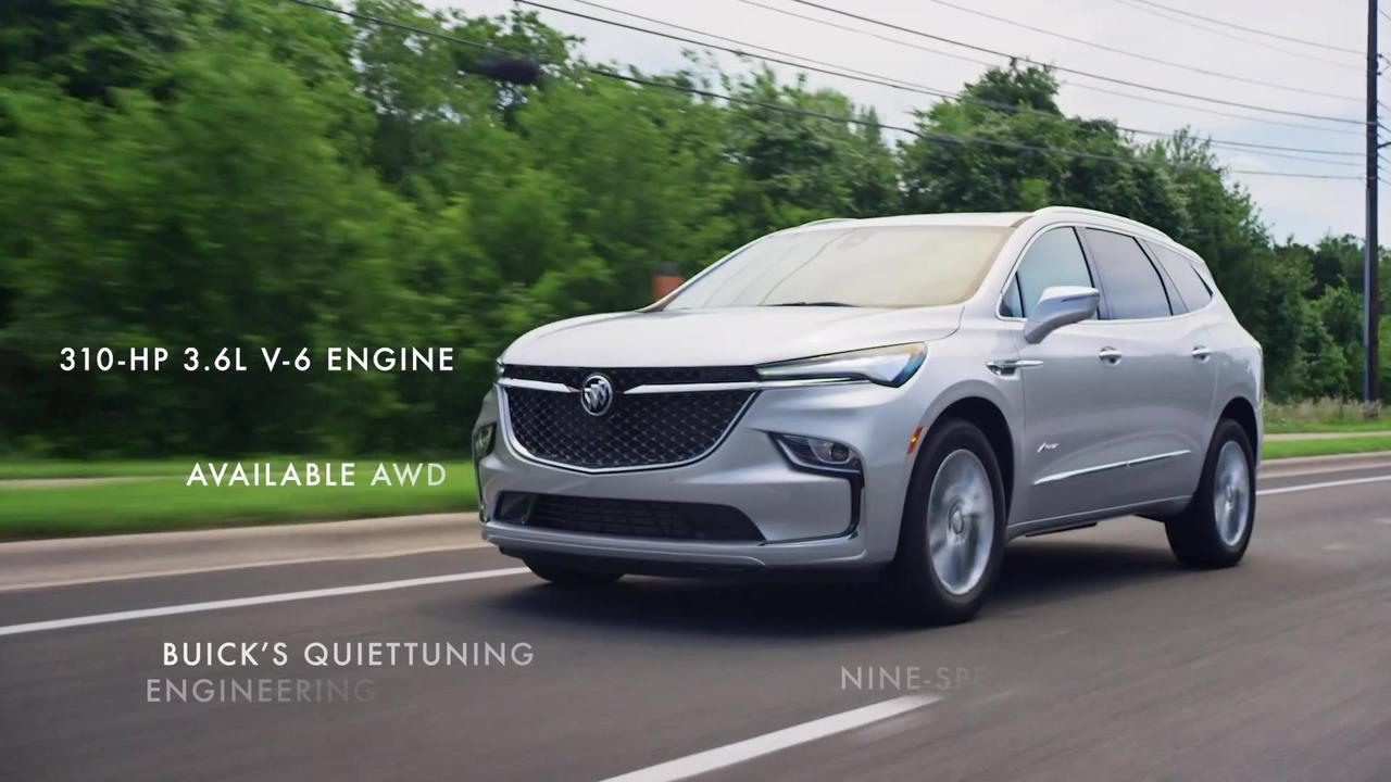 2022 Buick Enclave New Features
