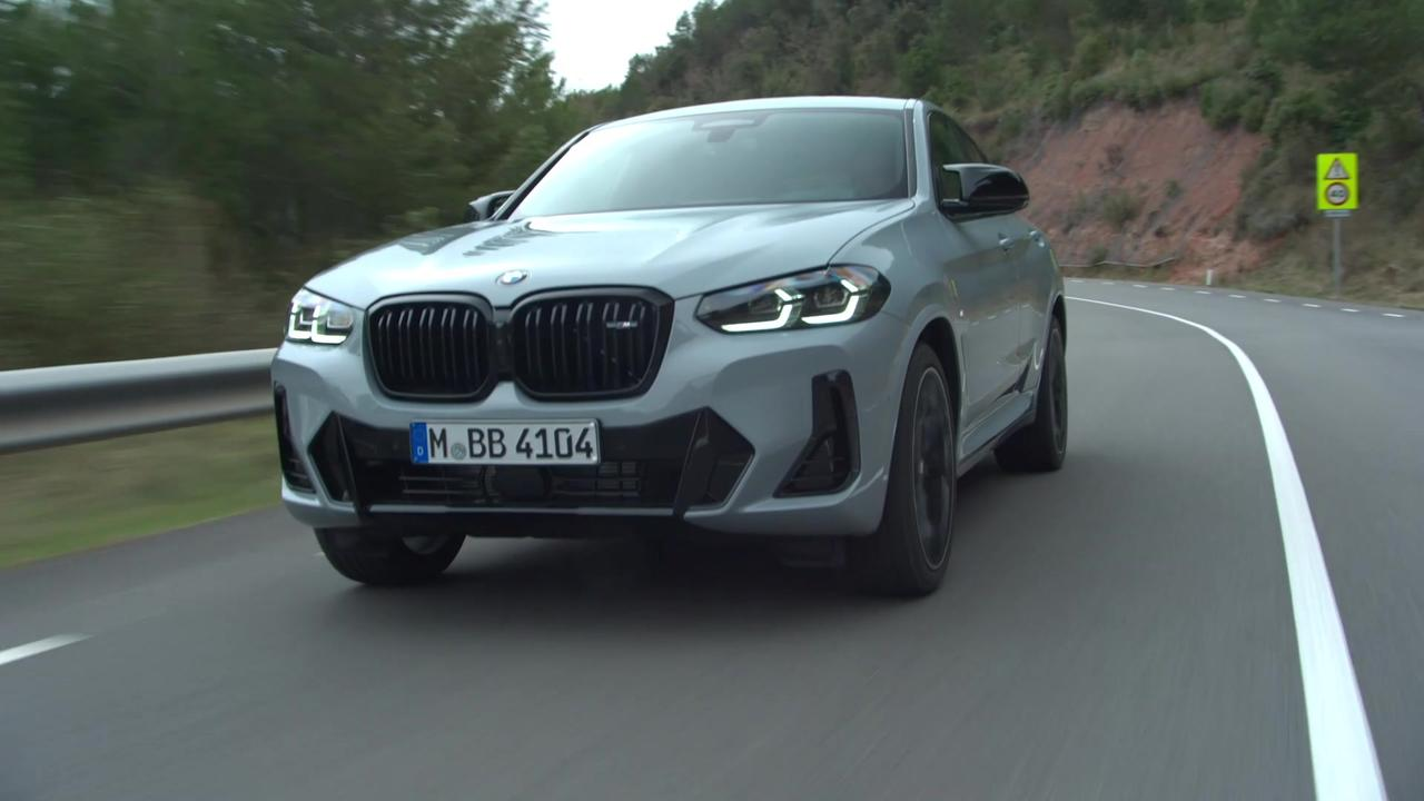 The new BMW X4 M40i Driving Video
