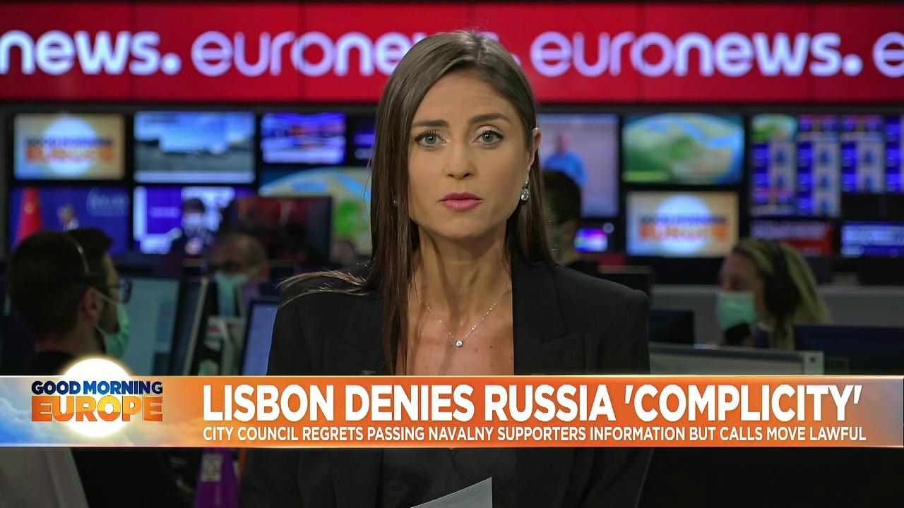 Lisbon expresses 'regret' after sharing details on pro-Navalny protestors with Russian embassy