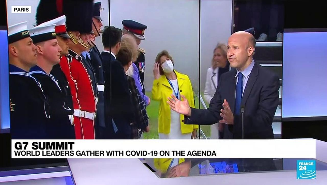 G-7 nations gather with COVID-19 on the agenda