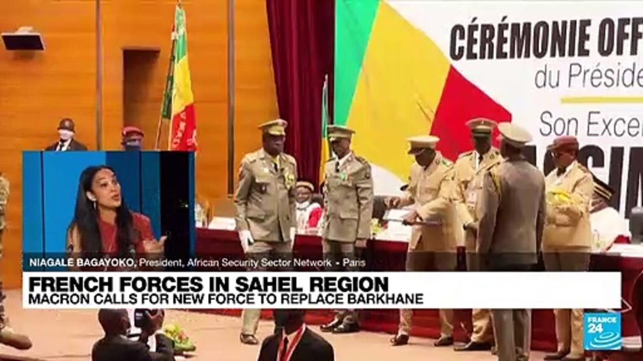 French forces in Sahel region, Macron calls for new force to replace Barkhane