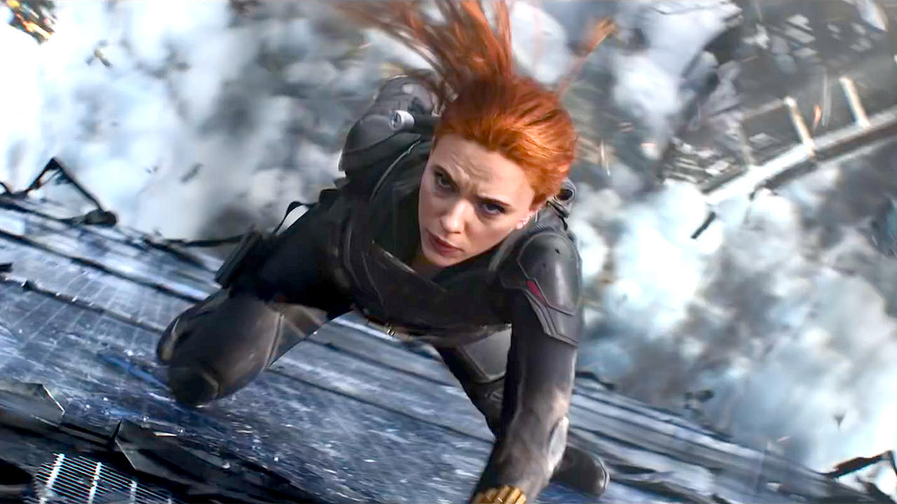 Black Widow with Scarlett Johansson - Official 'Let's Go' Trailer