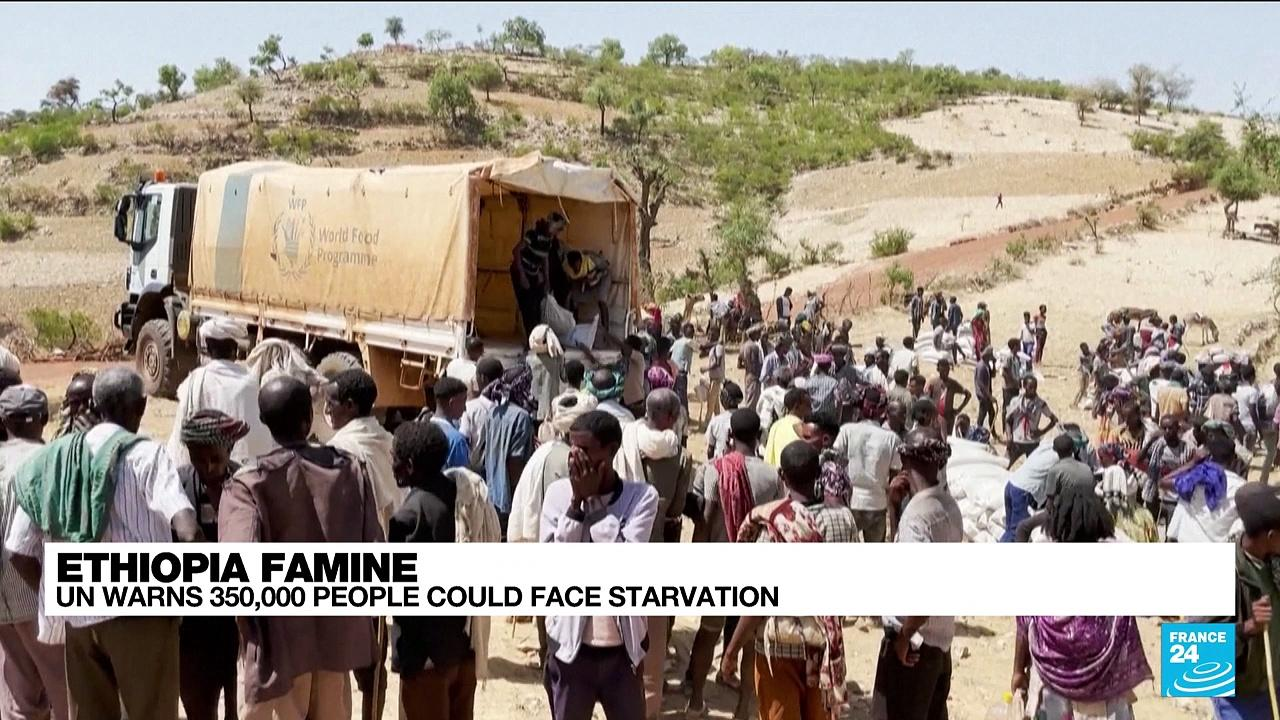 UN warns 350,000 people could face starvation in Ethiopia