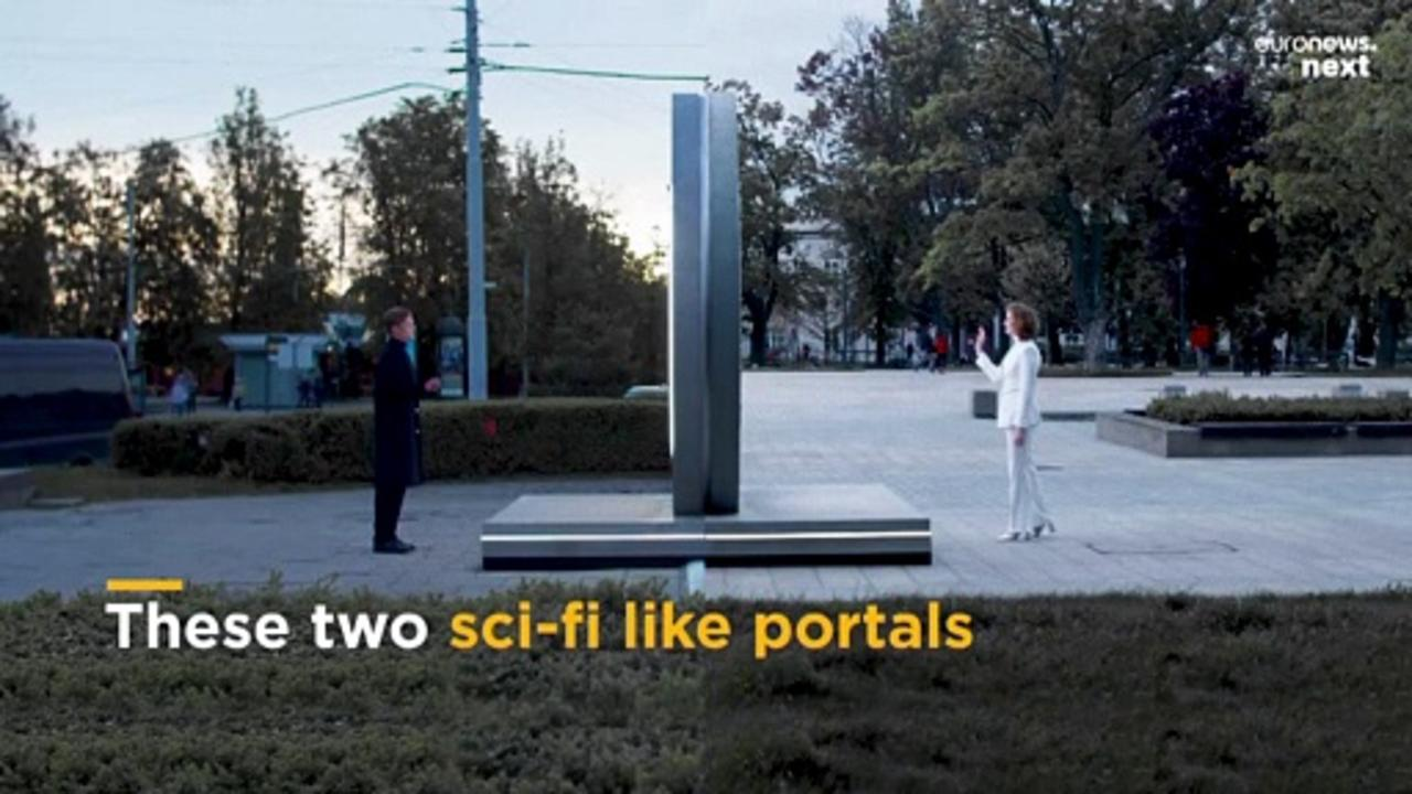 Through the looking glass: These portals let you peer into life in another city
