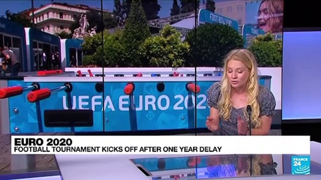 Euro 2020: Football tournament kicks off after one year delay