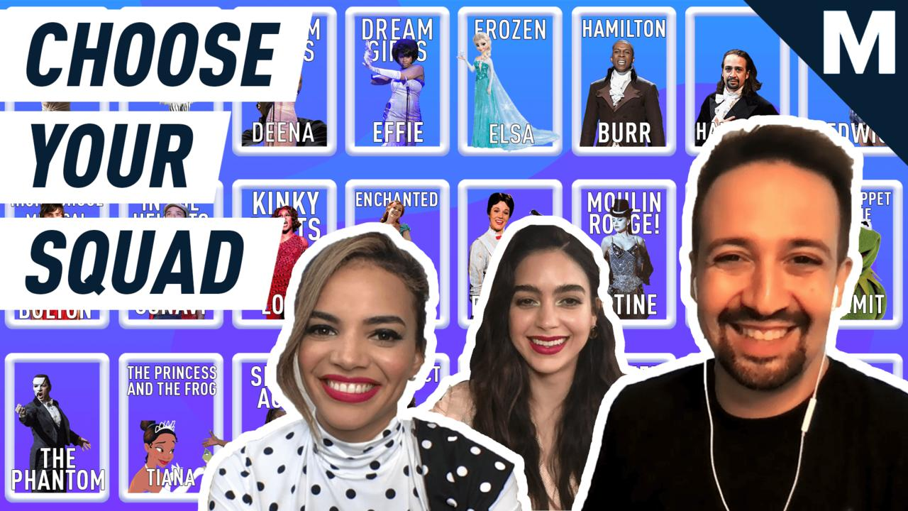 The cast of 'In the Heights' chooses their ultimate musical squad