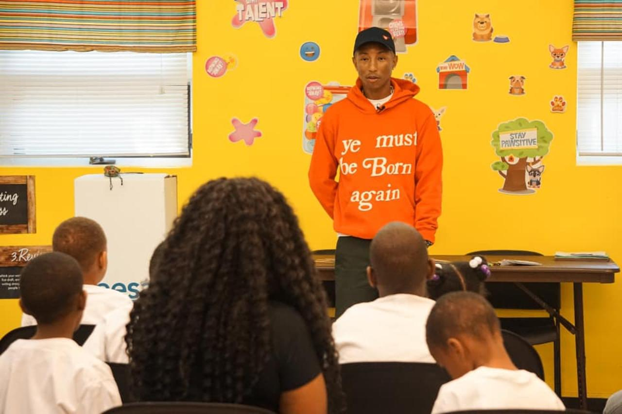 Pharrell Williams Announces Plan to Open Private Schools for Low-Income Families