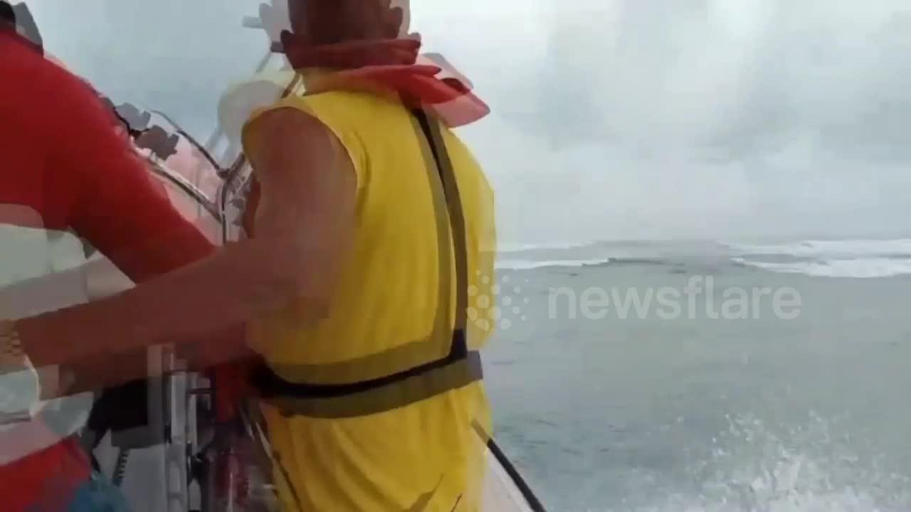 Cargo ship freed after getting stranded off the coast of Thailand