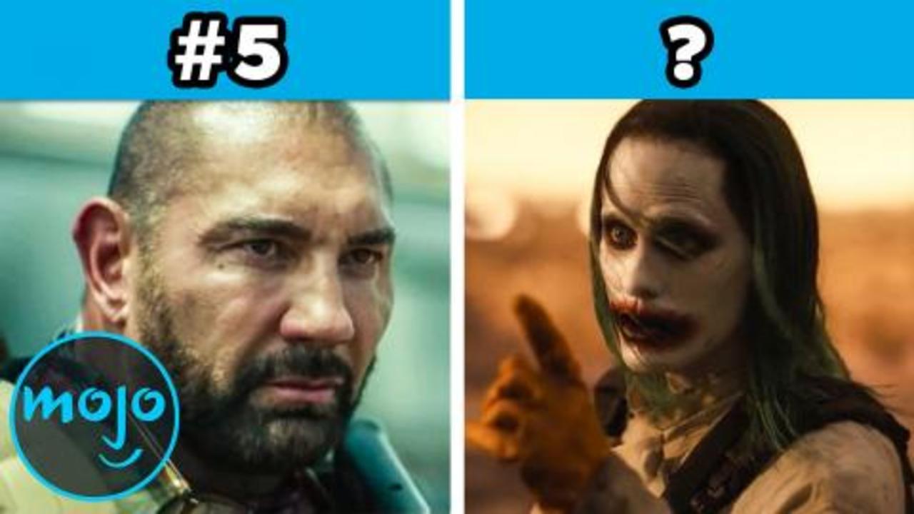 Every Zack Snyder Movie RANKED