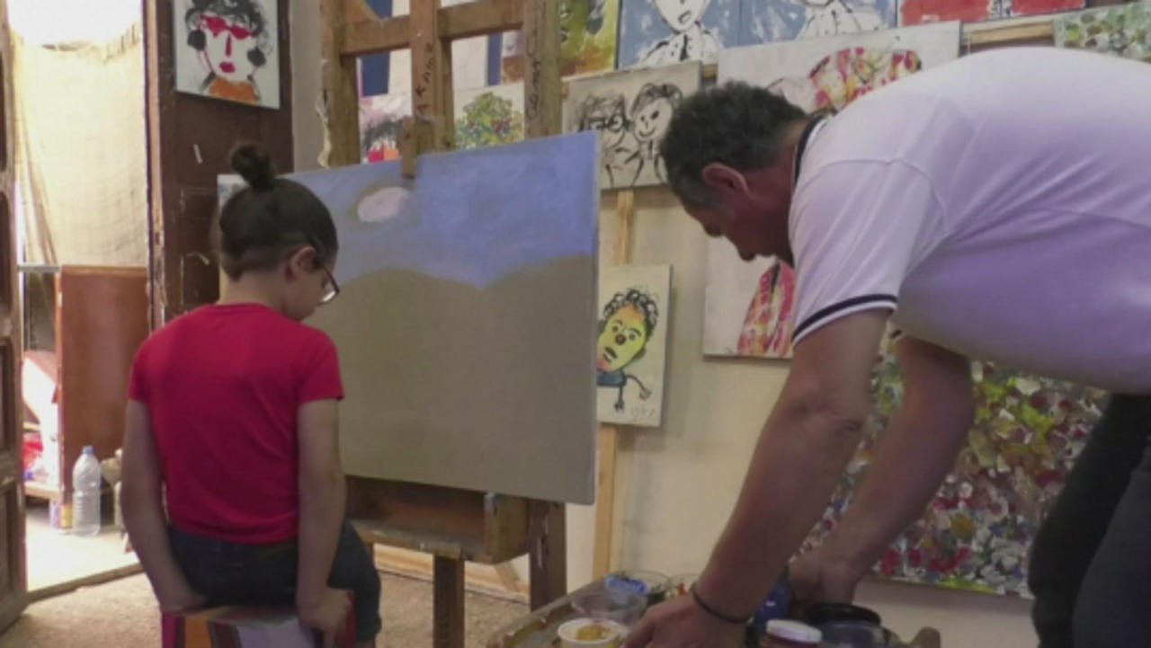 Check Out This Five-Year-Old Art Prodigy