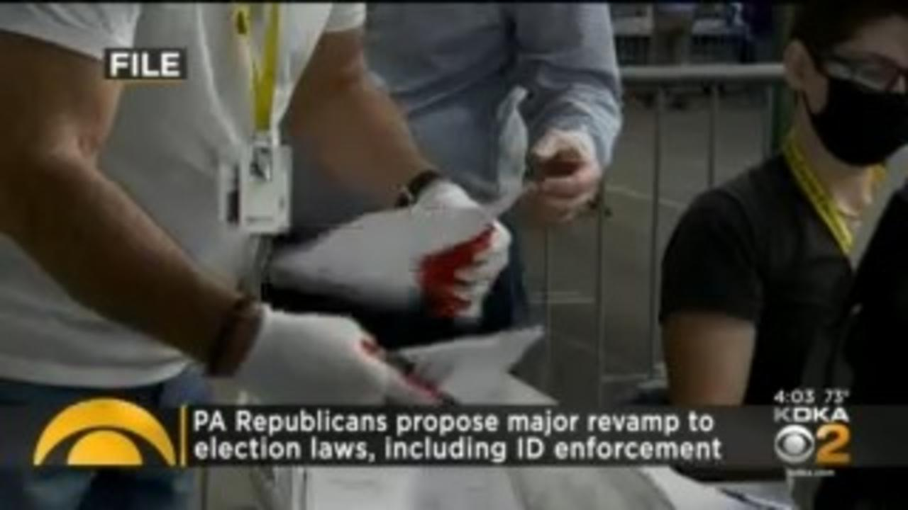 Pennsylvania House GOP Unveils Ambitious Proposal To Revamp Election Law