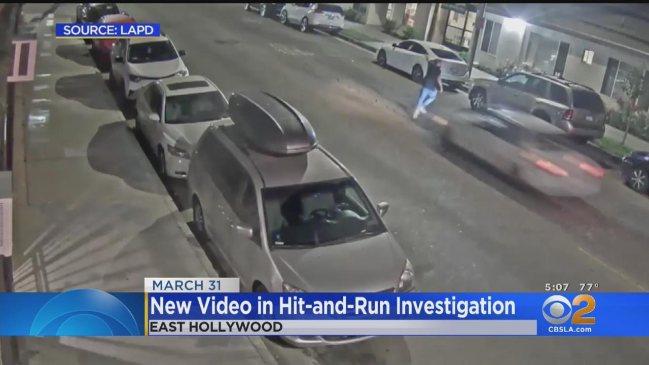 LAPD Releases Video Of Hit And Run In East Hollywood