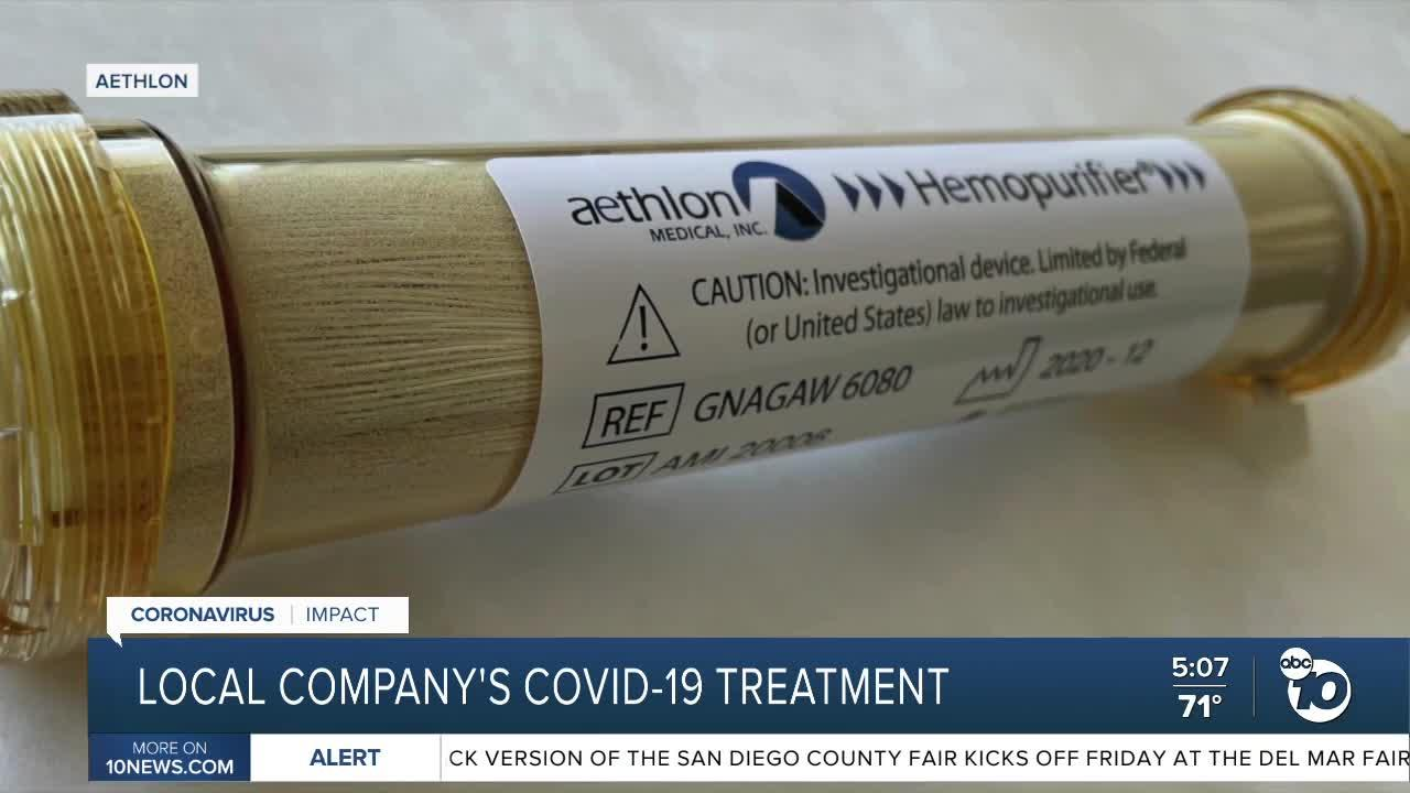 San Diego company's COVID-19 treatment shows promising results