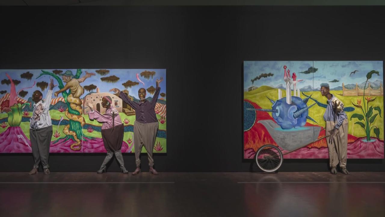 Denver Art Museum Hosting New Exhibit Called 'Oracles Of The Pink Universe' By Artist Simphiwe Ndzube