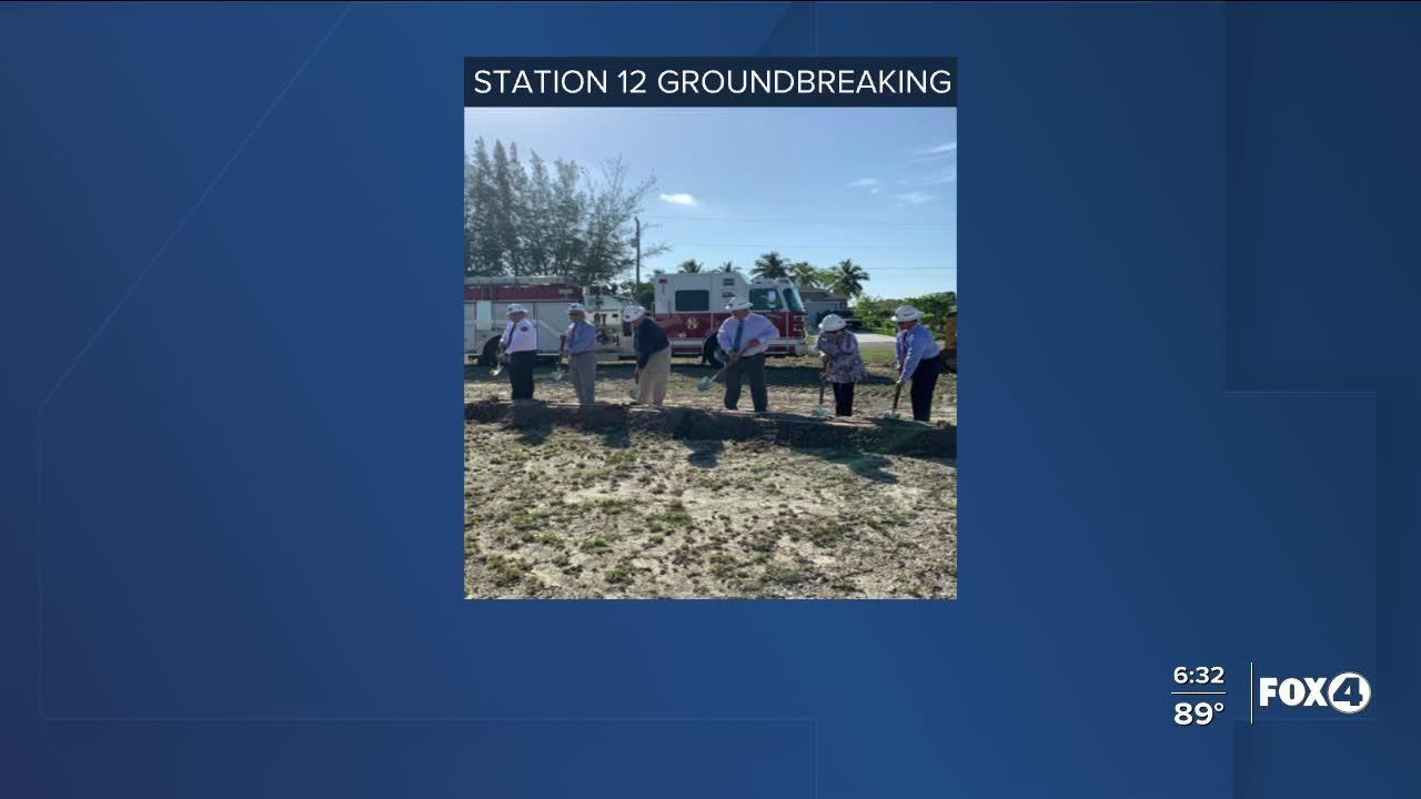 Fire Station 12 groundbreaking