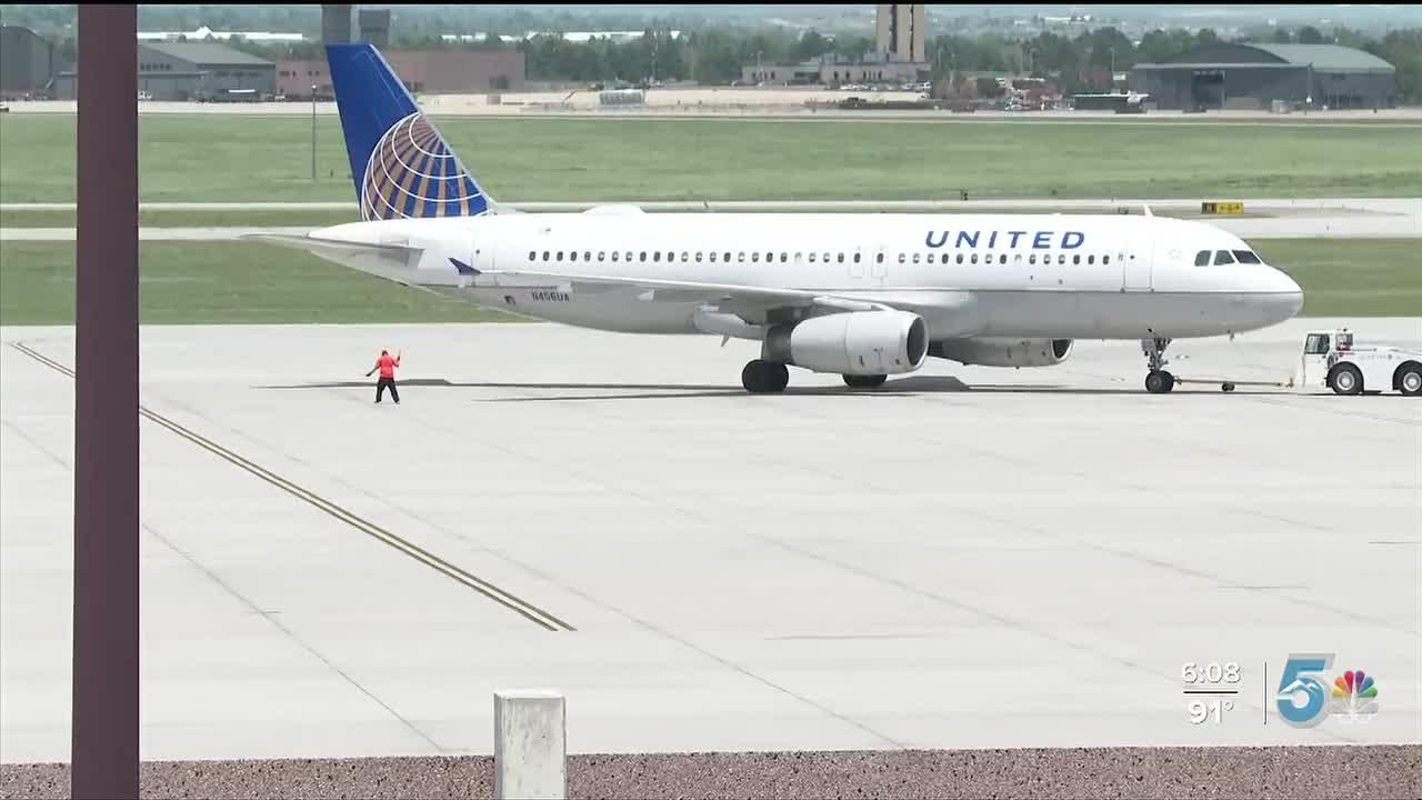 Colorado Springs Airport numbers are up