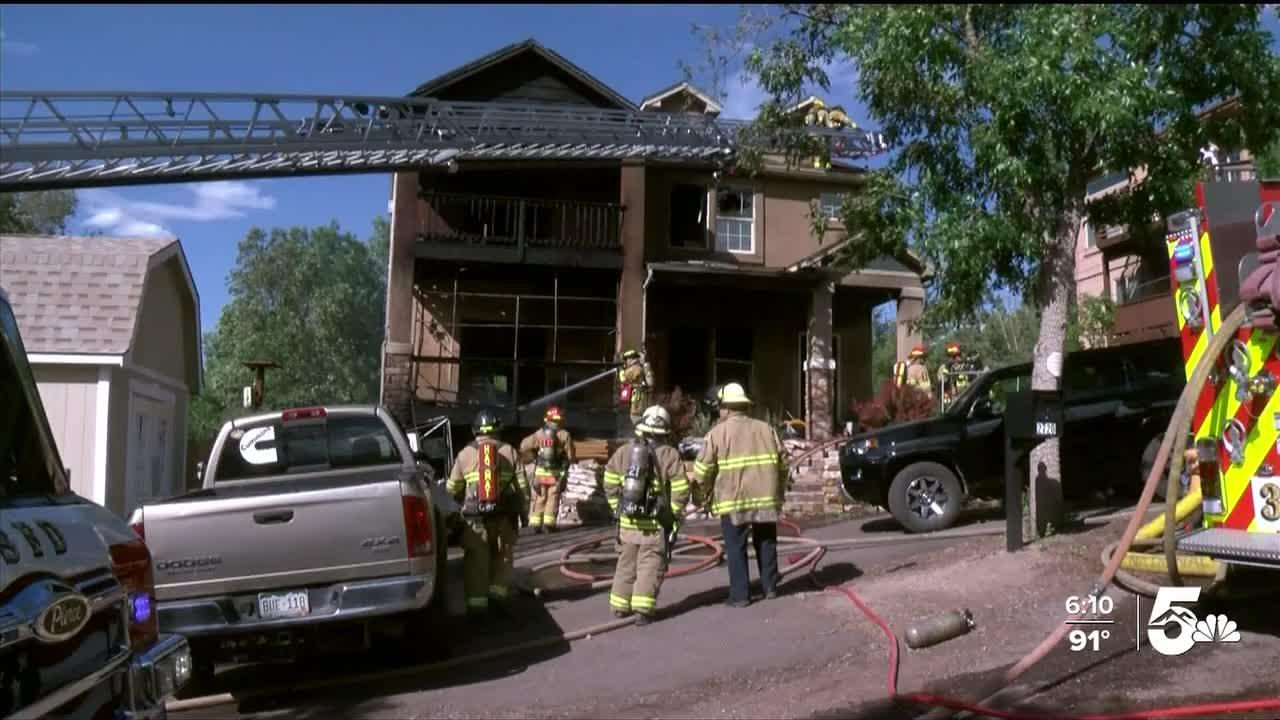 Home in Old Colorado City heavily damaged in fire