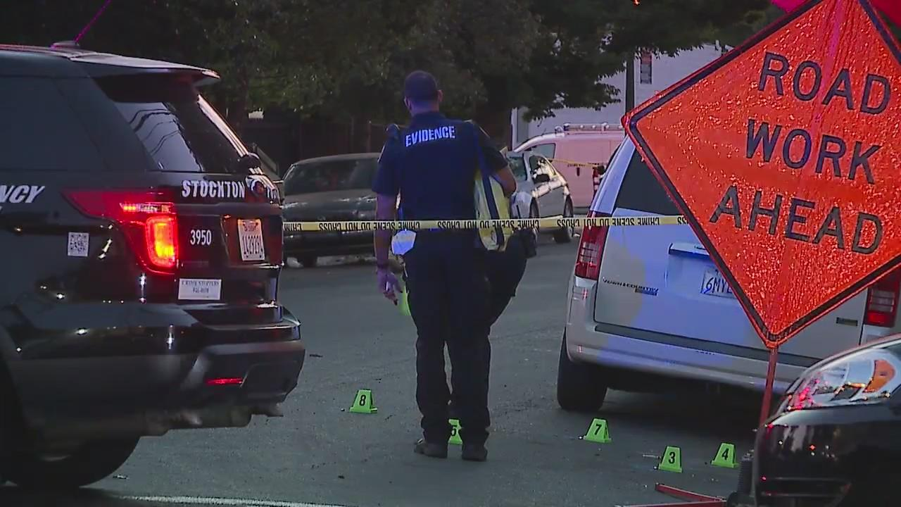 Police: Man killed in downtown Stockton shooting