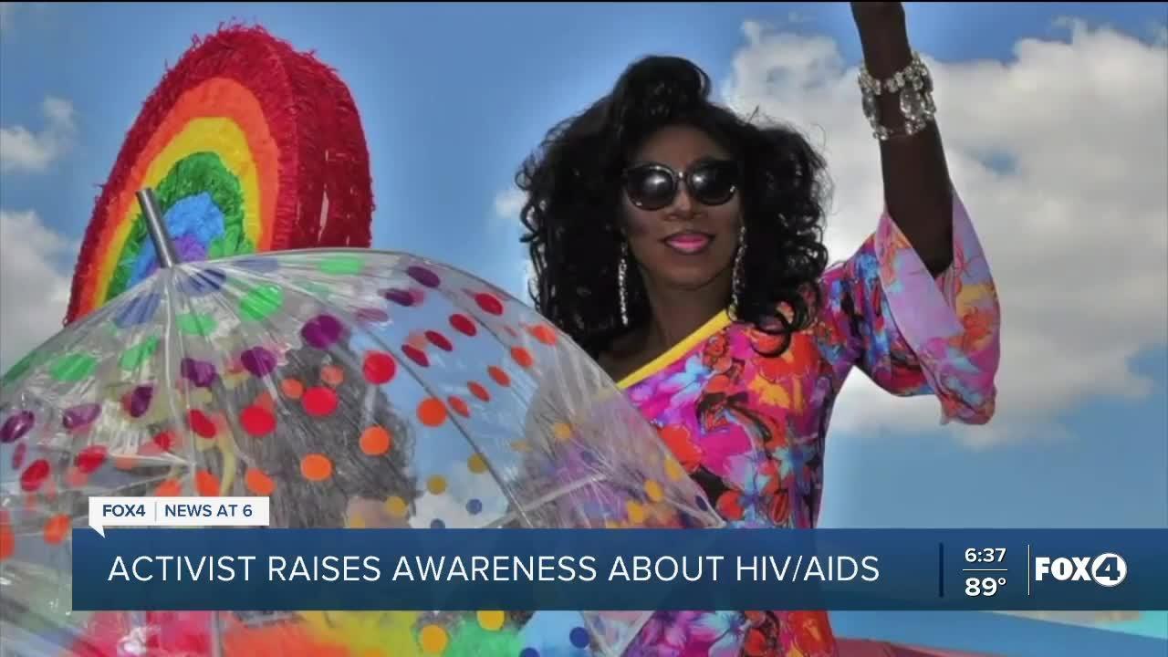 Activist raises awareness of HIV/AIDS