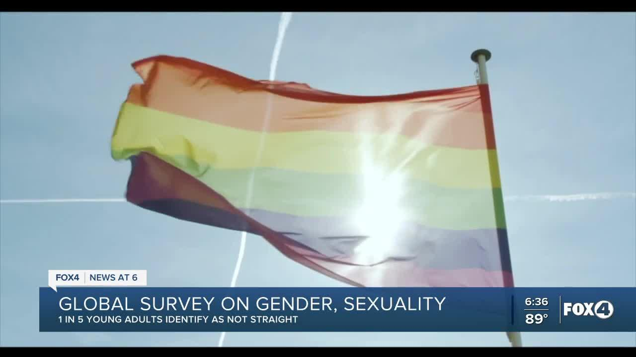 New survey says 1 in 5 young adults identify not straight