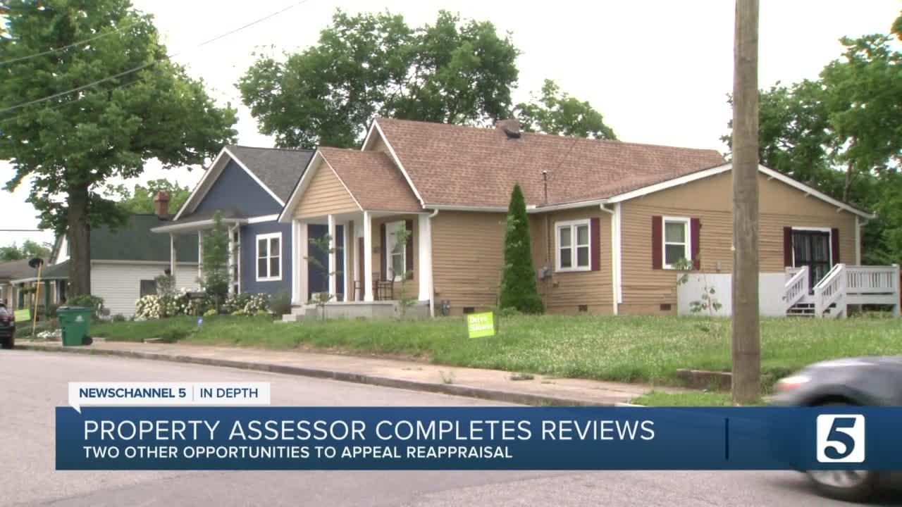 More than 10,500 Nashville property owners contested reappraised value