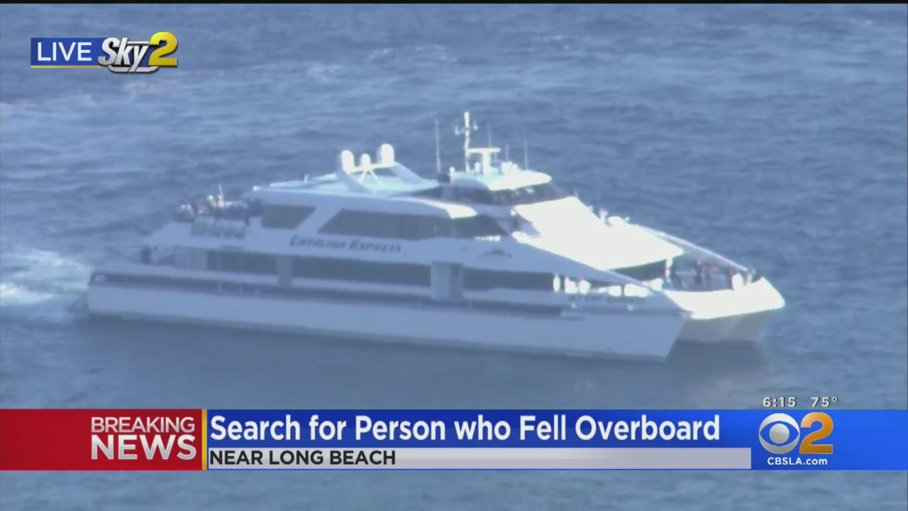 Authorities Search For Person Who Reportedly Fell Overboard Near Long Beach