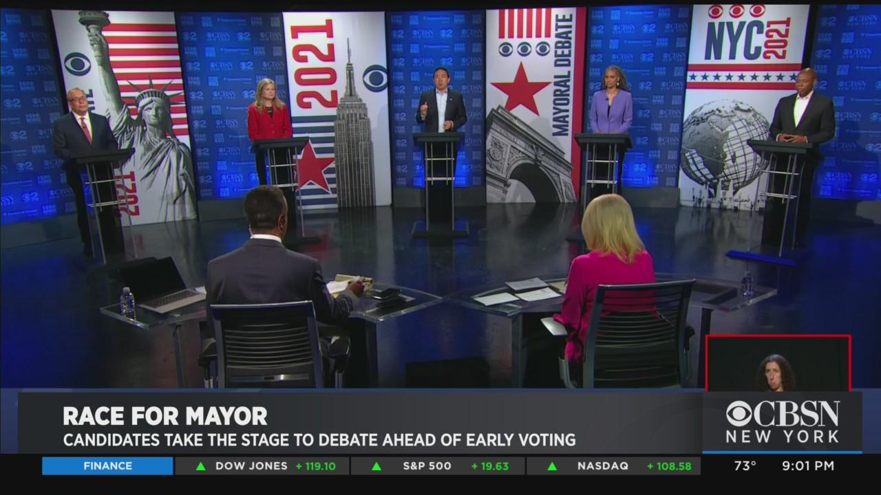 Mayoral Candidates Take The Stage To Debate Ahead Of Early Voting