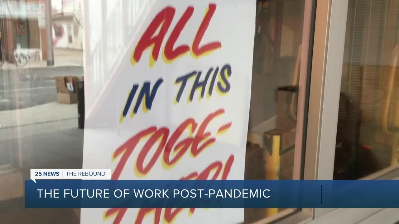 The future of work post pandemic