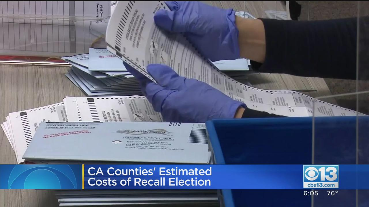 Newsom Recall Election Will Cost State $215 Million