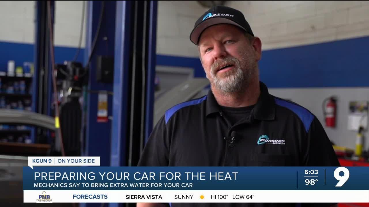 How to prepare your car for the heat