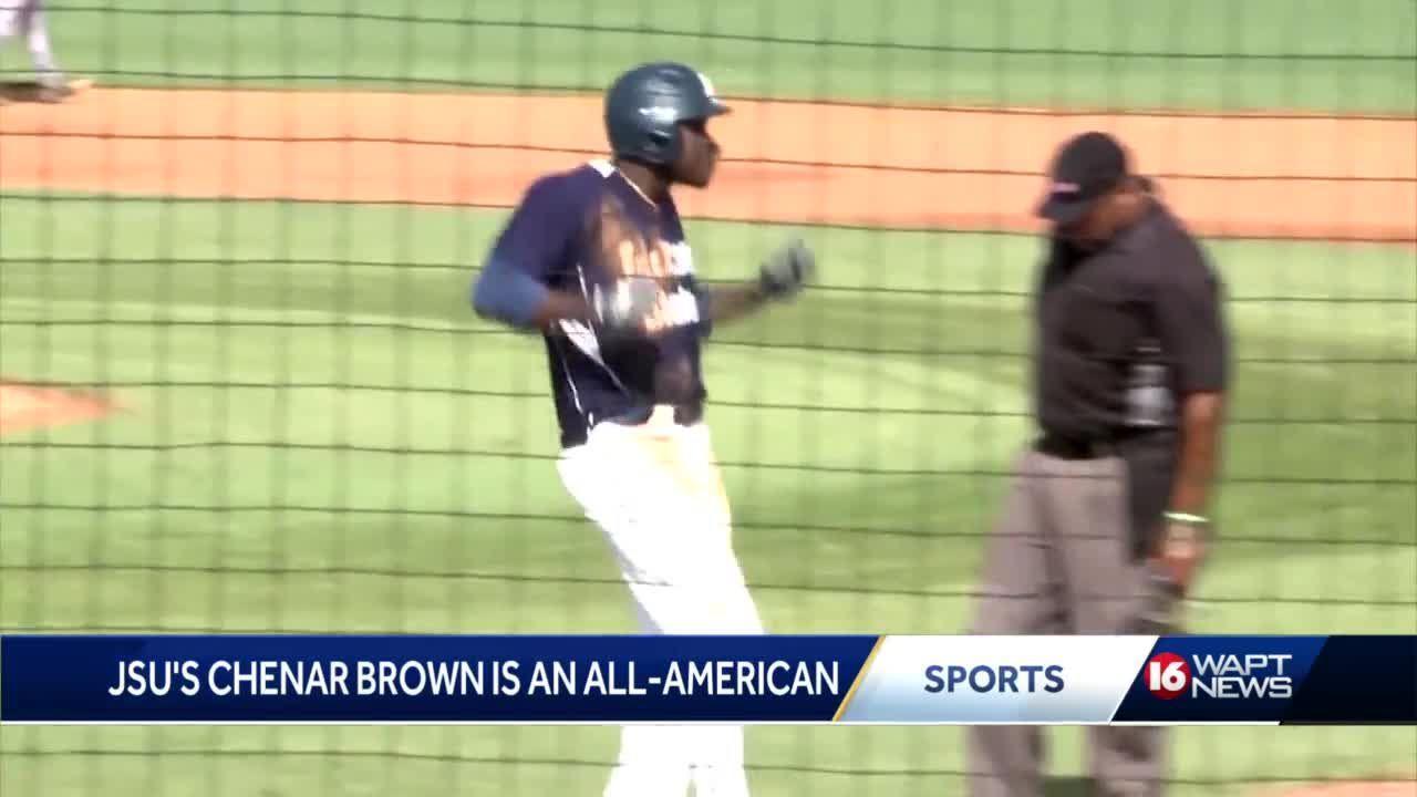 JSU's Chenar Brown earns All-American status